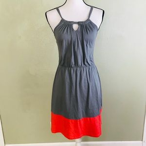Old Navy Color Block Halter Dress Size XS